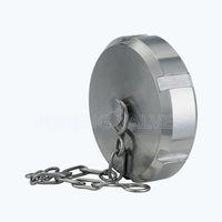 Sanitary 13RBM SMS-13BR blind nuts with chain