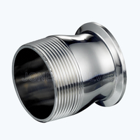 Sanitary 21MP Triclover-female threading reducing pipe adapters